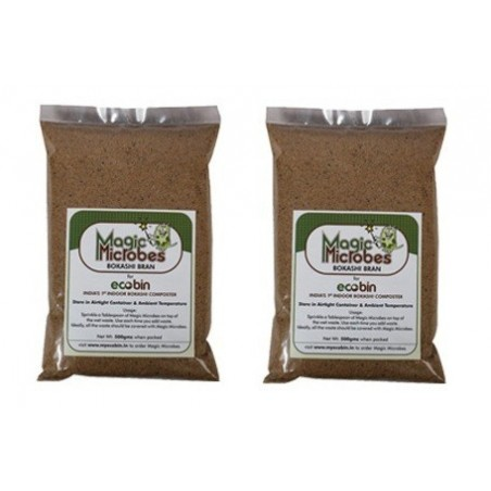 Pack of 2- Magic Microbes Bokashi Bran