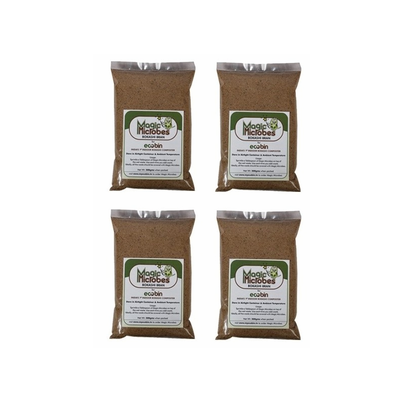 Pack of 4 - Magic Microbes Bokashi Bran