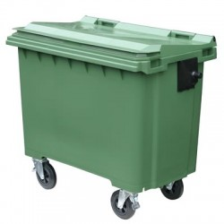 Wheeled Dust Bins 660 litres