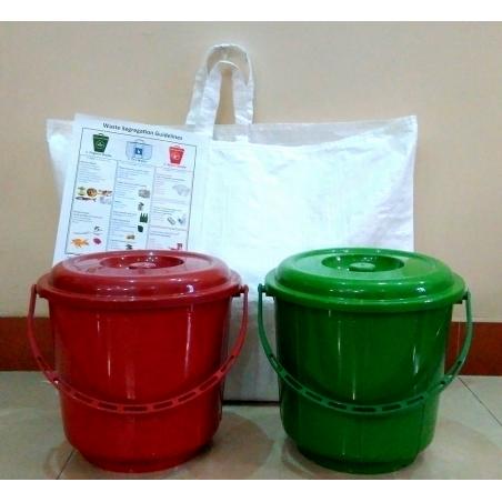 Waste Segregation Kit - 2bin1bag( set of 5)