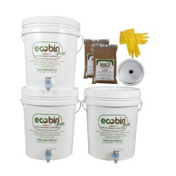 Eco Bin Jr Composter Kit - Set of 3
