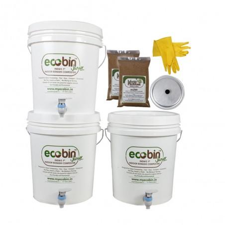 Eco Bin Jr Composter Kit - Set of 3