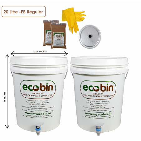 Eco Bin Regular Composter Kit -20L